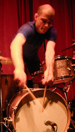 Chris Corsano by Stefano Giovannini